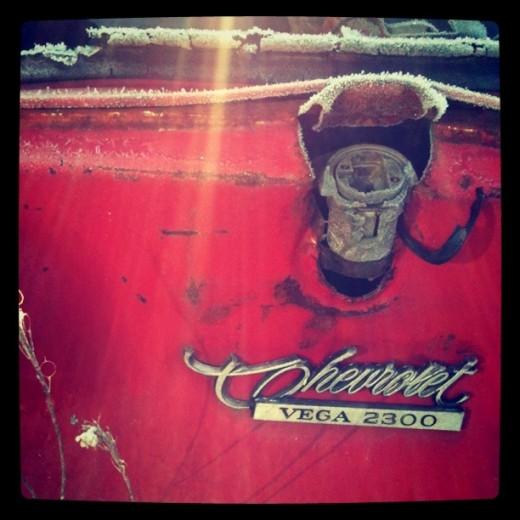 Chevrolet Vega emblem