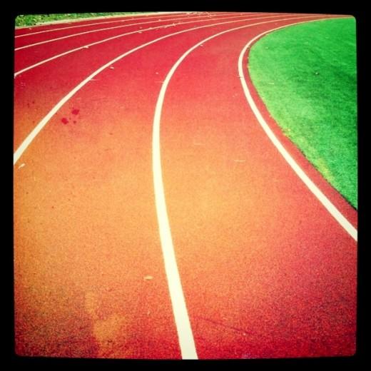 Track at Einstein Middle School Seattle Shoreline Washington