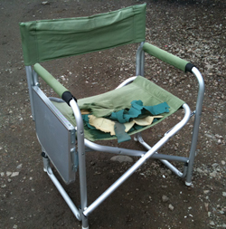 camp chair before