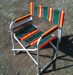 camp chair after