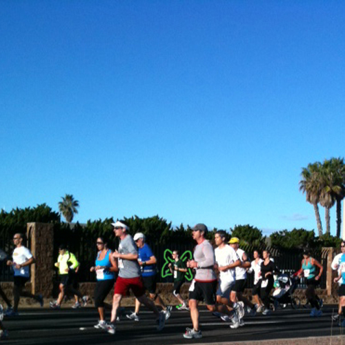 half marathon in San Diego November 13, 2011